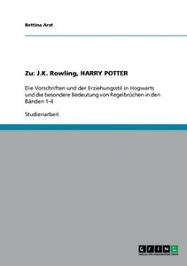 Zu: J.K. Rowling, HARRY POTTER