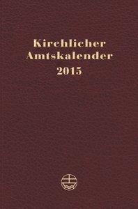 Kirchlicher Amtskalender 2015 rot