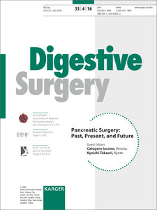 Pancreatic Surgery: Past, Present, and Future