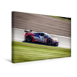 Premium Textil-Leinwand 45 cm x 30 cm quer SMP RACING - Ferrari