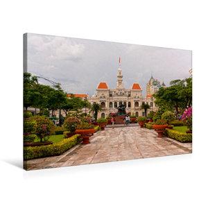 Premium Textil-Leinwand 75 cm x 50 cm quer Ho Chi Minh City
