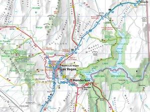 Straßenkarte USA Nevada/Las Vegas 1 : 800 000