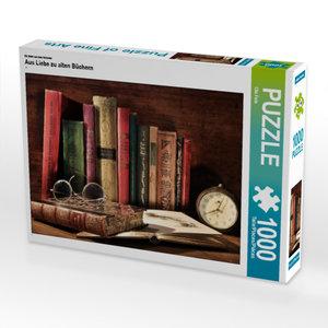 CALVENDO Puzzle Aus Liebe zu alten Büchern 1000 Teile Lege-Größe