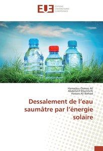 Dessalement de l\'eau saumâtre par l\'énergie solaire