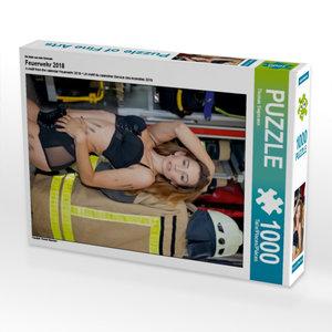 Ein Motiv aus dem Kalender Feuerwehr 2018 1000 Teile Puzzle hoch