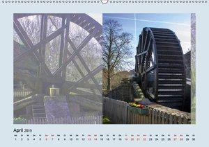 Ein Besuch in Bad Nauheim (Wandkalender 2019 DIN A2 quer)