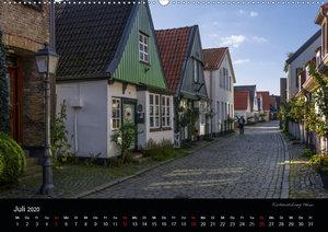 Schleswig - Schleistadt mit Flair (Wandkalender 2020 DIN A2 quer