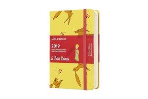 Moleskine Tageskalender, Der Kleine Prinz, 12 Monate, 2019, Pock