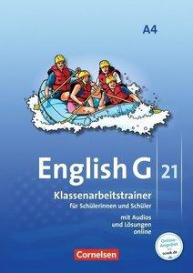 English G 21, Ausgabe A: 8. Schuljahr. Klassenarbeitstrainer mit