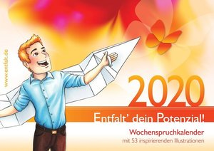 entfalt®-Kalender 2020: Entfalt\' dein Potenzial!