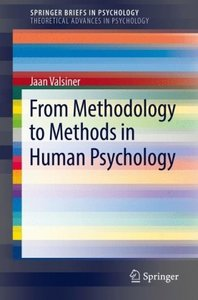 From Methodology to Methods in Human Psychology