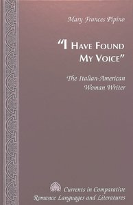 «I Have Found My Voice»