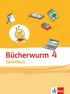 Bücherwurm Sprachbuch. Schülerbuch 4. Schuljahr. Allgemeine Ausg