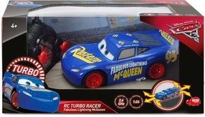 Dickie 203084009 - Disney Cars 3 - RC Fabulous Turbo Race Lightn