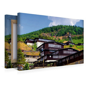 Premium Textil-Leinwand 45 cm x 30 cm quer Besucherbergwerk Ramm