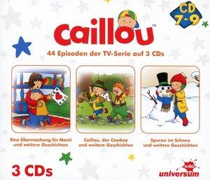 Caillou Hörspielbox 3 (CD 7-9)