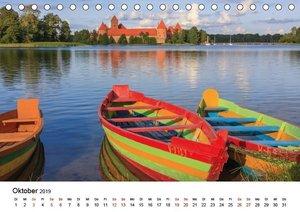 Baltische Länder (Tischkalender 2019 DIN A5 quer)