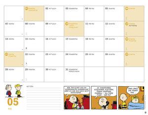 Peanuts Monatsplaner - Kalender 2018
