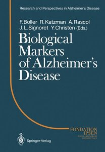 Biological Markers of Alzheimer's Disease