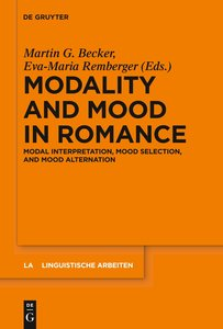 Modality and Mood in Romance