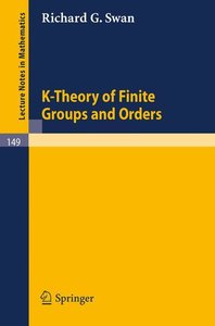 K-Theory of Finite Groups and Orders