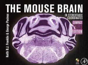 Mouse Brain in Stereotaxic Coordinates, 3rd edition, compact ver