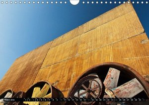 Industriebrachen staubig und stolz (Wandkalender 2019 DIN A4 qu