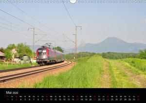 Mit der Bahn durch die Alpen