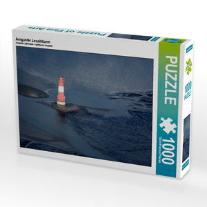 Arngaster Leuchtturm 1000 Teile Puzzle quer