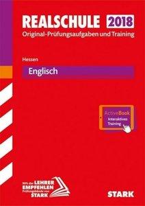 Realschule 2018 - Hessen - Englisch, mit MP3-CD