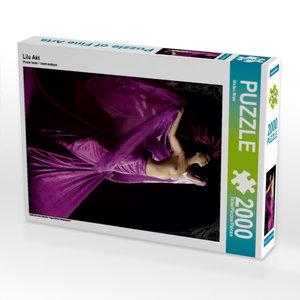 Lila Akt 2000 Teile Puzzle hoch