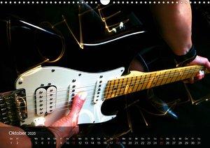 Rockgitarren Power (Wandkalender 2020 DIN A3 quer)