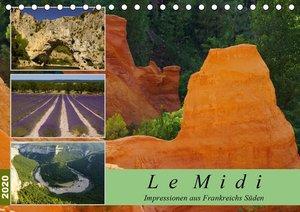 Le Midi - Impressionen aus Frankreichs Süden (Tischkalender 2020
