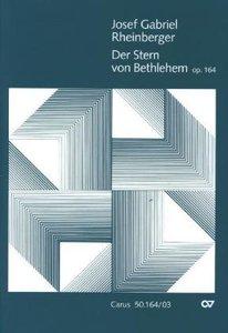 Der Stern von Bethlehem op.164, Weihnachtskantate, Klavierauszug