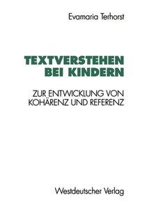 Textverstehen bei Kindern