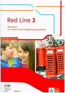 Red Line 2. Workbook mit Audio-CD und Vokabelübungssoftware Klas