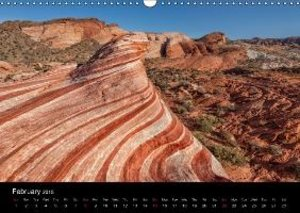 USA Nature Deluxe (Wall Calendar 2015 DIN A3 Landscape)