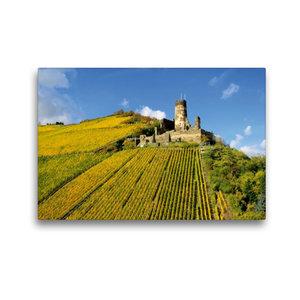 Premium Textil-Leinwand 45 cm x 30 cm quer Burg Fürstenberg