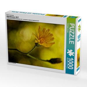 Ein Motiv aus dem Kalender Alpenblumen 2017 1000 Teile Puzzle ho