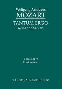 Tantum Ergo, K. 142 / Anh.C 3.04 - Vocal Score