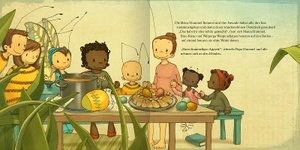Die kleine Hummel Bommel feiert Ostern