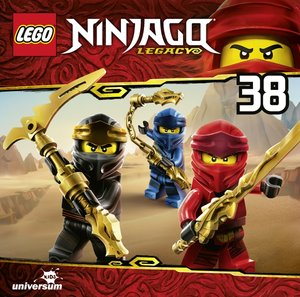 LEGO Ninjago. Tl.35, 1 Audio-CD