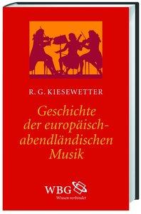 Geschichte der europäisch-abendländischen Musik