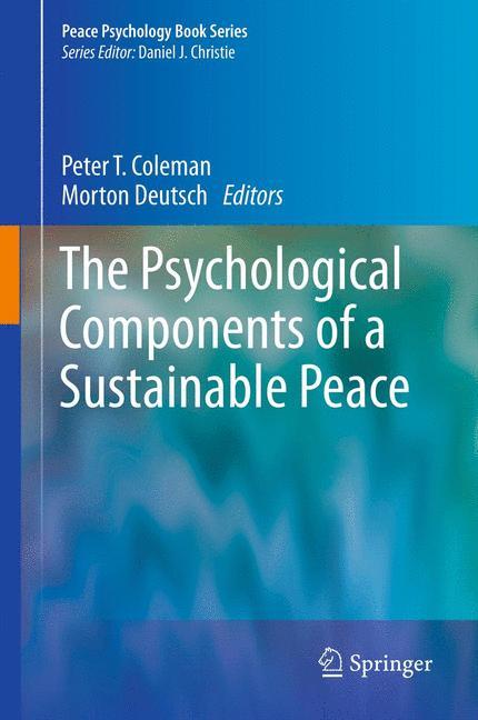 Psychological Components of Sustainable Peace - zum Schließen ins Bild klicken