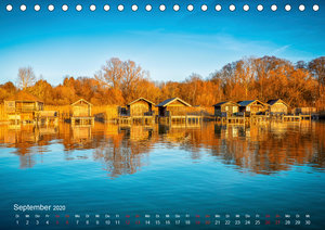 Impressionen vom Starnberger See (Tischkalender 2020 DIN A5 quer