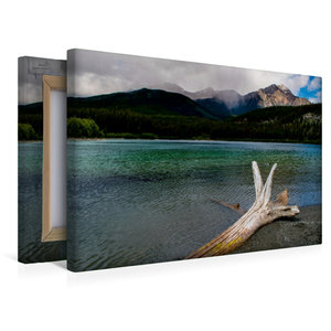Premium Textil-Leinwand 45 cm x 30 cm quer Patricia Lake