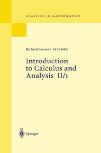 Introduction to Calculus and Analysis II/1