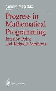 Progress in Mathematical Programming