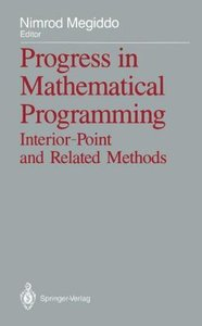 Progress in Mathematical Programming