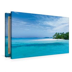 Premium Textil-Leinwand 90 cm x 60 cm quer Tonga